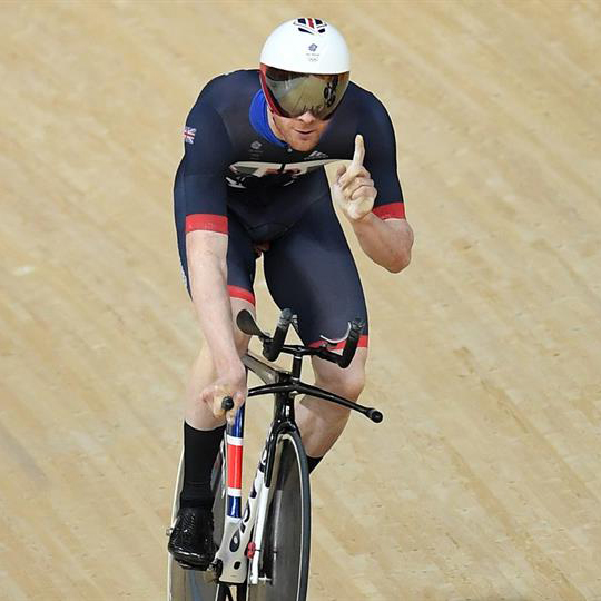 ed clancy on bike during a race
