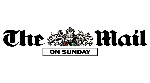 press logo of the mail on sunday paper